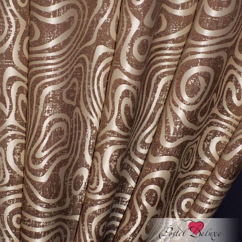Шторы Elegante Классические шторы Круги на Воде Цвет: Коричневый шторы elegante классические шторы туман цвет персиковый