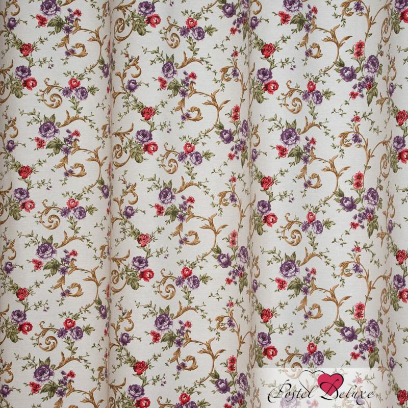 Шторы Elegante Классические шторы Цветочный Узор Цвет: Бежевый шторы elegante классические шторы туман цвет персиковый