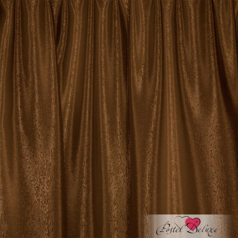 Шторы Elegante Классические шторы Шелковый Блеск Цвет: Коричневый шторы tac классические шторы winx цвет персиковый 200x265 см