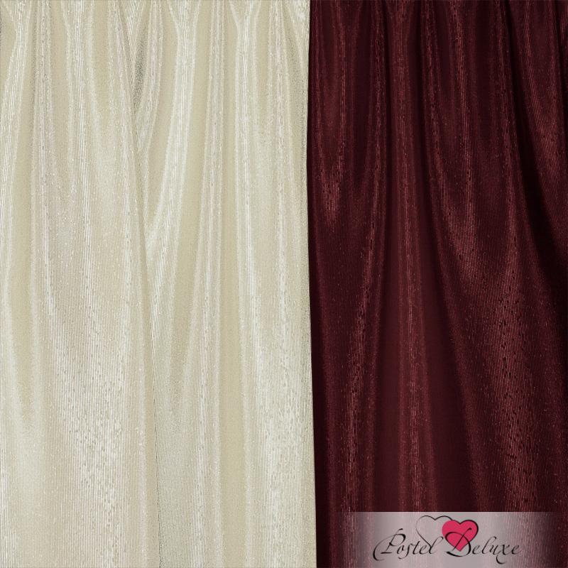 Шторы Elegante Классические шторы Тронный Зал Цвет: Бордовый, Молочный шторы elegante классические шторы туман цвет персиковый