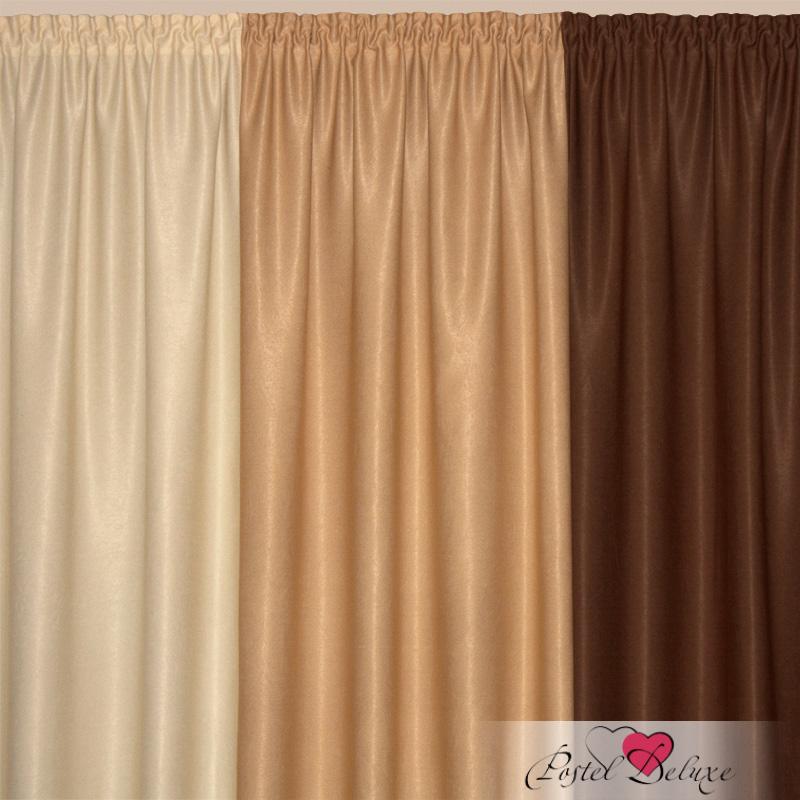 Шторы Elegante Классические шторы Радуга Цвет: Кофе шторы tac классические шторы winx цвет персиковый 200x265 см