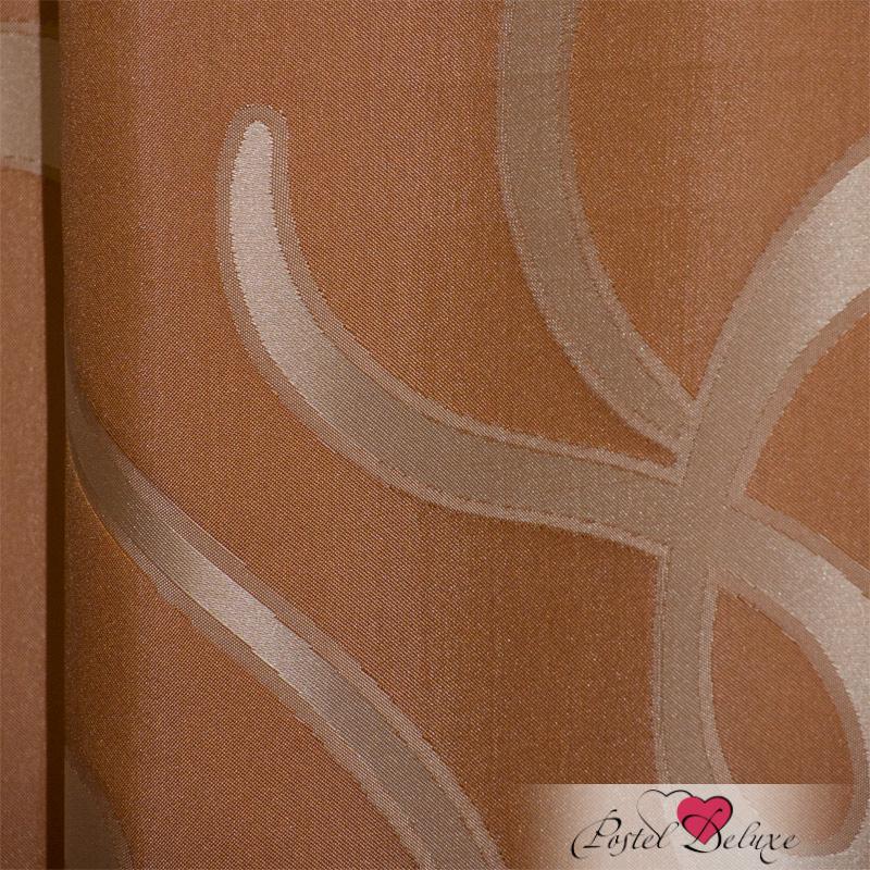 Шторы Elegante Классические шторы Линия Судьбы Цвет: Терракотовый