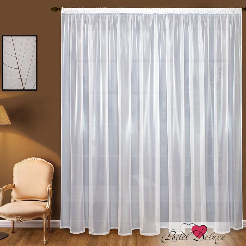 Шторы Elegante Классические шторы Дымка Цвет: Белый шторы tac классические шторы winx цвет персиковый 200x265 см