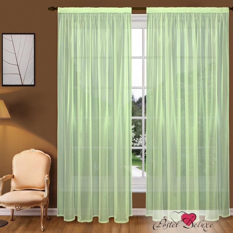 Шторы Elegante Классические шторы Туман Цвет: Зеленый шторы tac классические шторы winx цвет персиковый 200x265 см