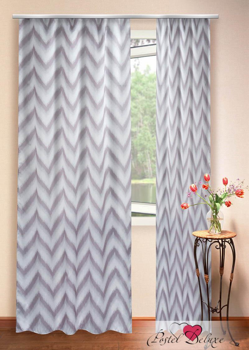 Шторы Elegante Классические шторы Зигзаги Цвет: Молочный Шоколад шторы elegante классические шторы туман цвет персиковый