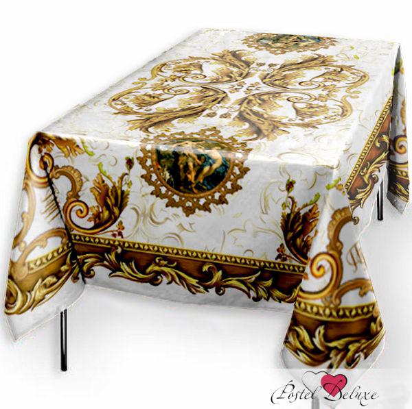 Скатерти и салфетки Elegante Скатерть Адонис Цвет: белый (120х150 см) скатерти и салфетки elegante скатерть улыбка 120х150 см