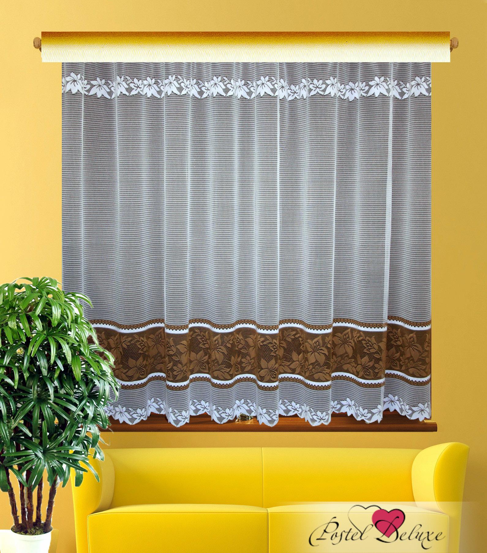 Шторы Elegante Классические шторы Buketwhite Цвет: Белый шторы tac классические шторы winx цвет персиковый 200x265 см