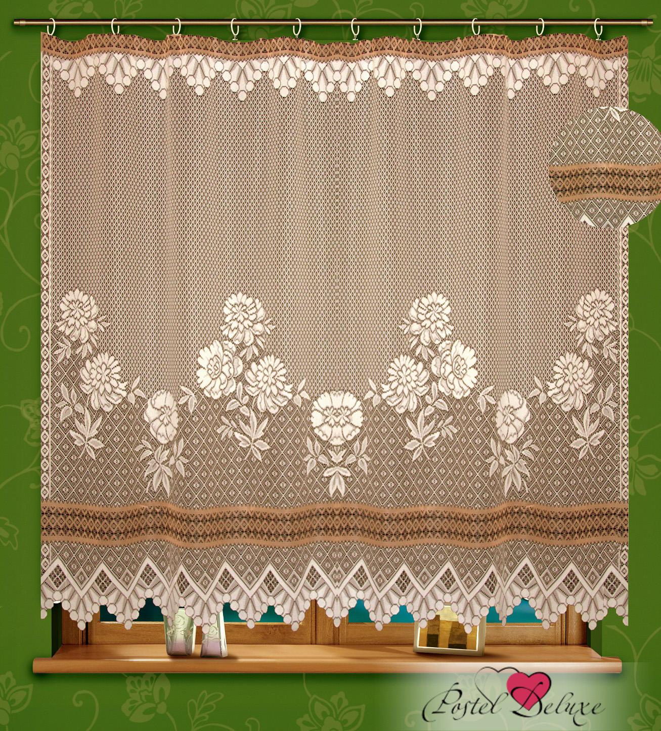 Шторы Elegante Классические шторы Ayktai Цвет: Кремовый/Коричневый шторы tac классические шторы winx цвет персиковый 200x265 см