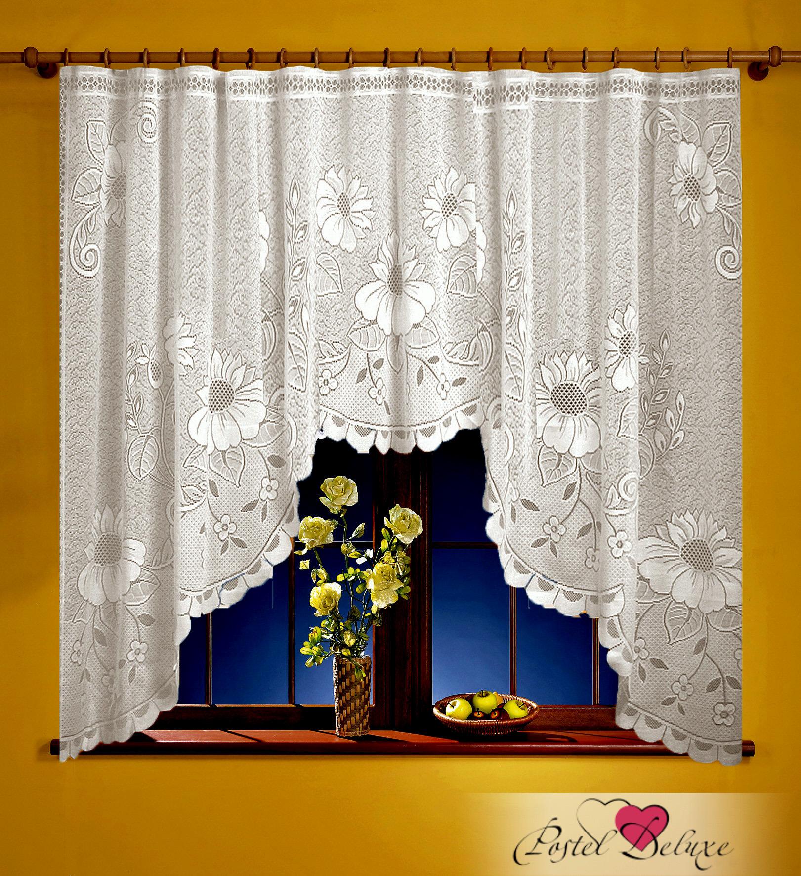 Шторы Elegante Классические шторы Malegno Цвет: Белый шторы tac классические шторы winx цвет персиковый 200x265 см