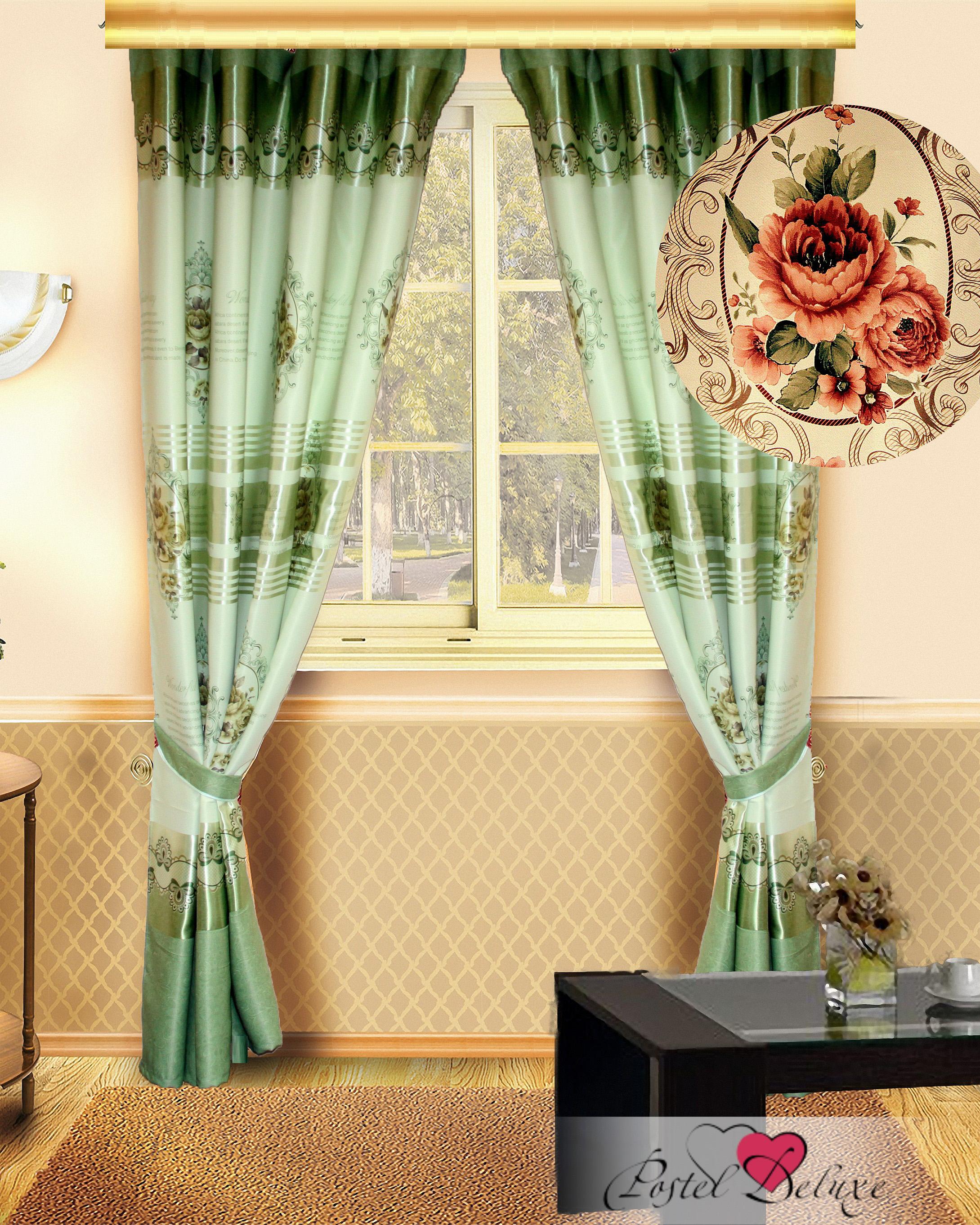 Шторы Elegante Классические шторы Rubi Цвет: Фисташковый rubi rubi ru008awgxq29
