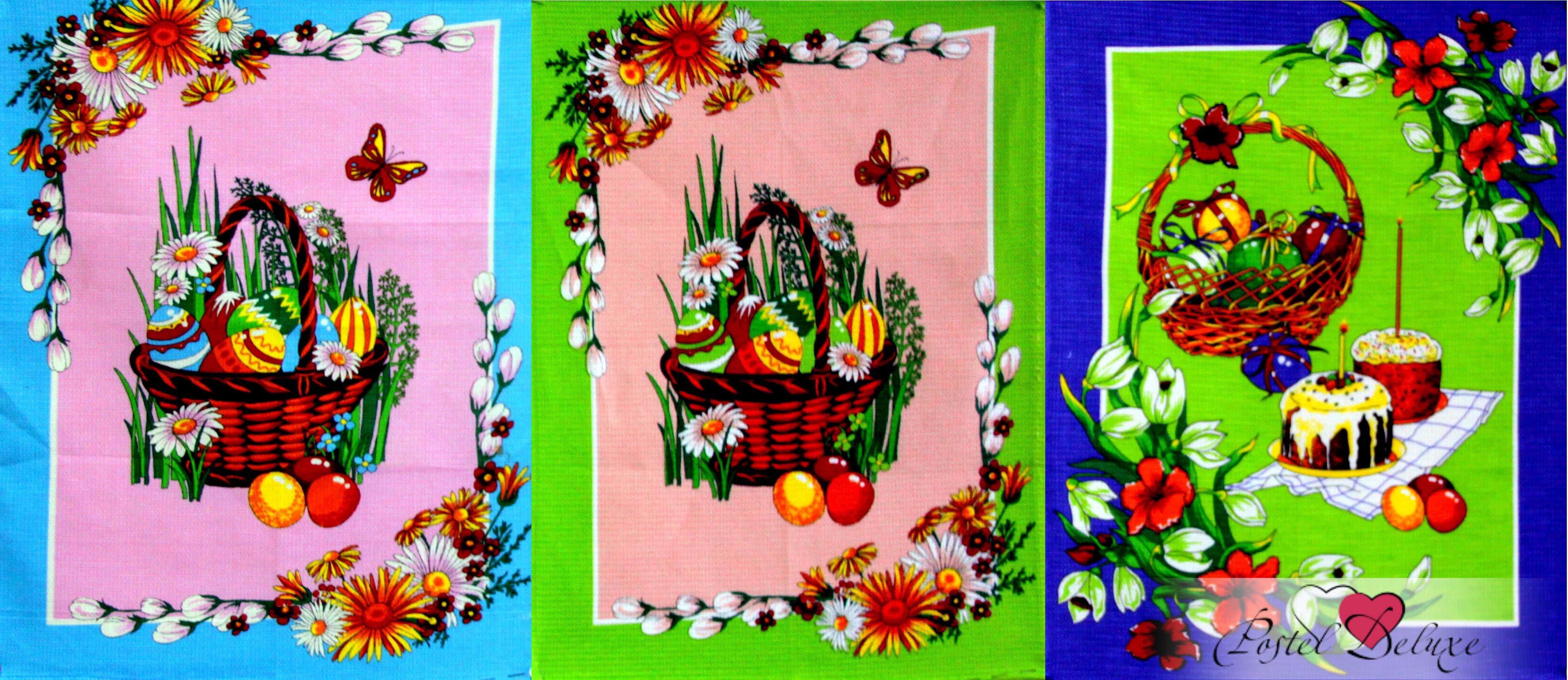 {} Elegante Кухонное полотенце Пасха (45х60 см - 3 шт) полотенца jollein муслиновое полотенце пончо 45х60 см