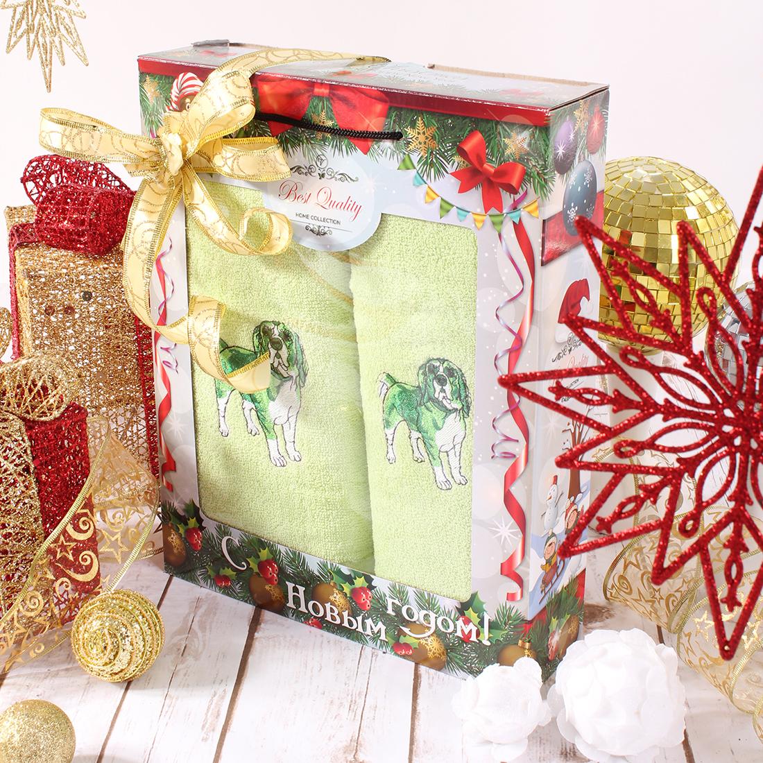 Полотенца Eleganta Полотенце Бигль Цвет: Зеленый (50х90 см,70х140 см) полотенца eleganta полотенце медаль цвет салатовый 50х90 см 70х140 см