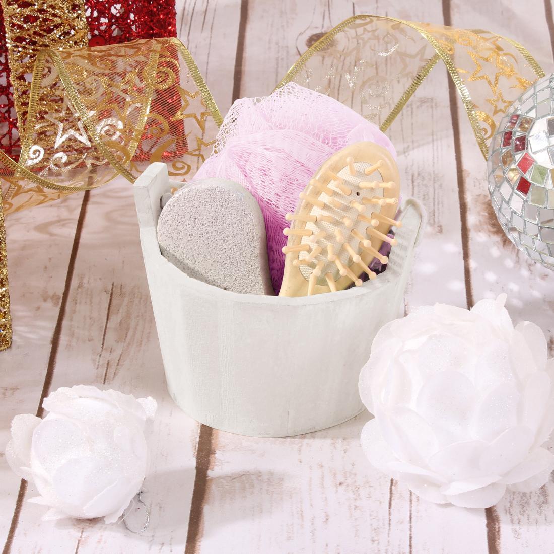 {} Eleganta Набор для ванной Lindy Цвет: Молочно-Розовый (Универсальный) сумка hermes lindy 34 togo