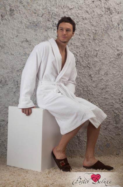 Сауны, бани и оборудование EvaTeks Халат Nick Цвет: Белый (M)