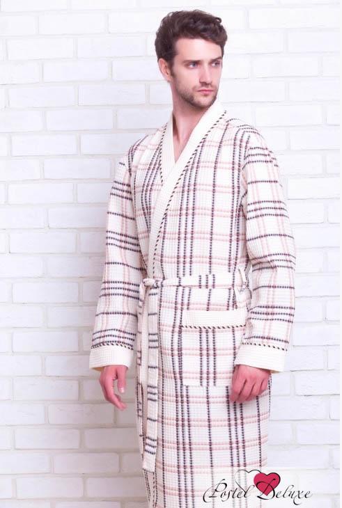 Сауны, бани и оборудование EvaTeks Халат Leighton Цвет: Кремовый (M) купить шелковый халат мужской спб