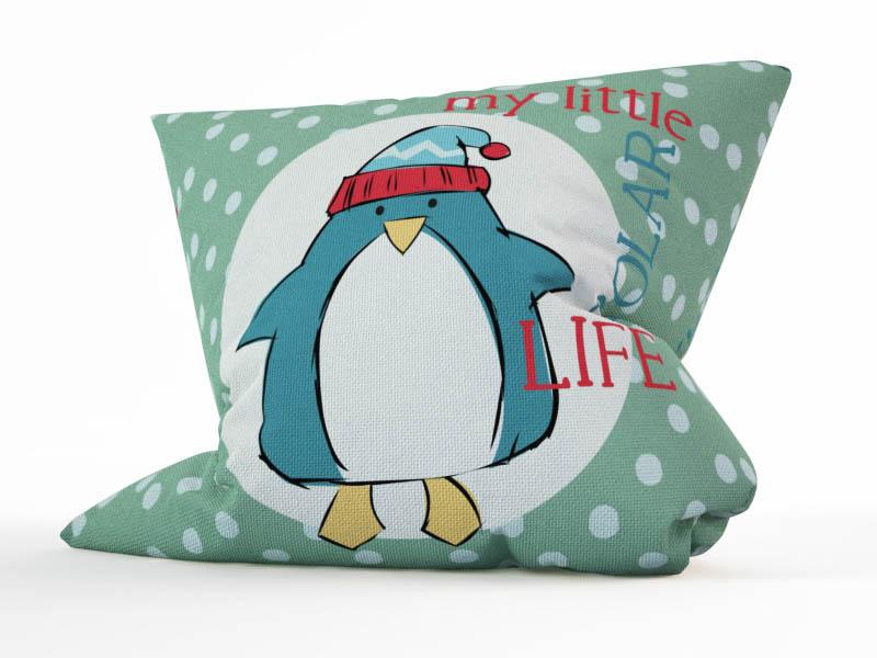 Декоративные подушки StickButik Декоративная подушка Пингвиненок (45х45)
