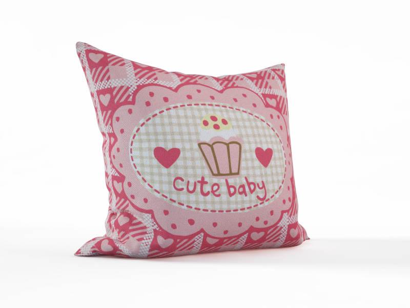 Декоративные подушки StickButik Декоративная подушка Милый Ребенок (45х45)