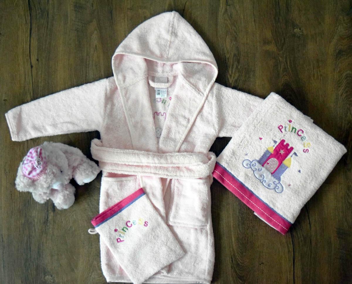 Детские халаты Arya Детский халат Princess Цвет: Розовый (1-3 года) халаты домашние лори халат