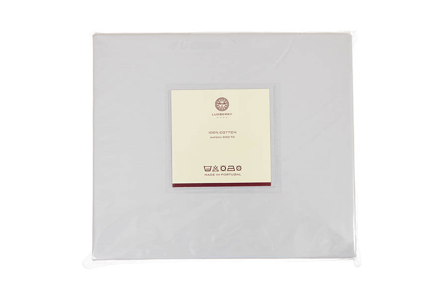 {} Luxberry Простыня Gage Цвет: Серый Жемчуг (240х280) детский комплект luxberry sweet life простыня без резинки