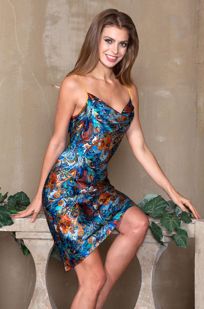 Ночные сорочки Mia-Mia Ночная сорочка Yesenia (xL) ночные сорочки hello moda ночная сорочка