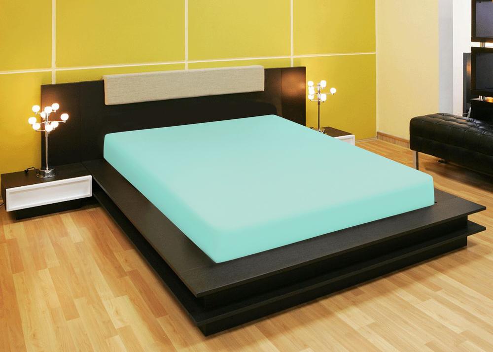 Простыни Amore Mio Простыня на резинке Quiet Цвет: Зеленый (90х200) простыни candide простыня bamboo fitted sheet 130г м2 60x120 см