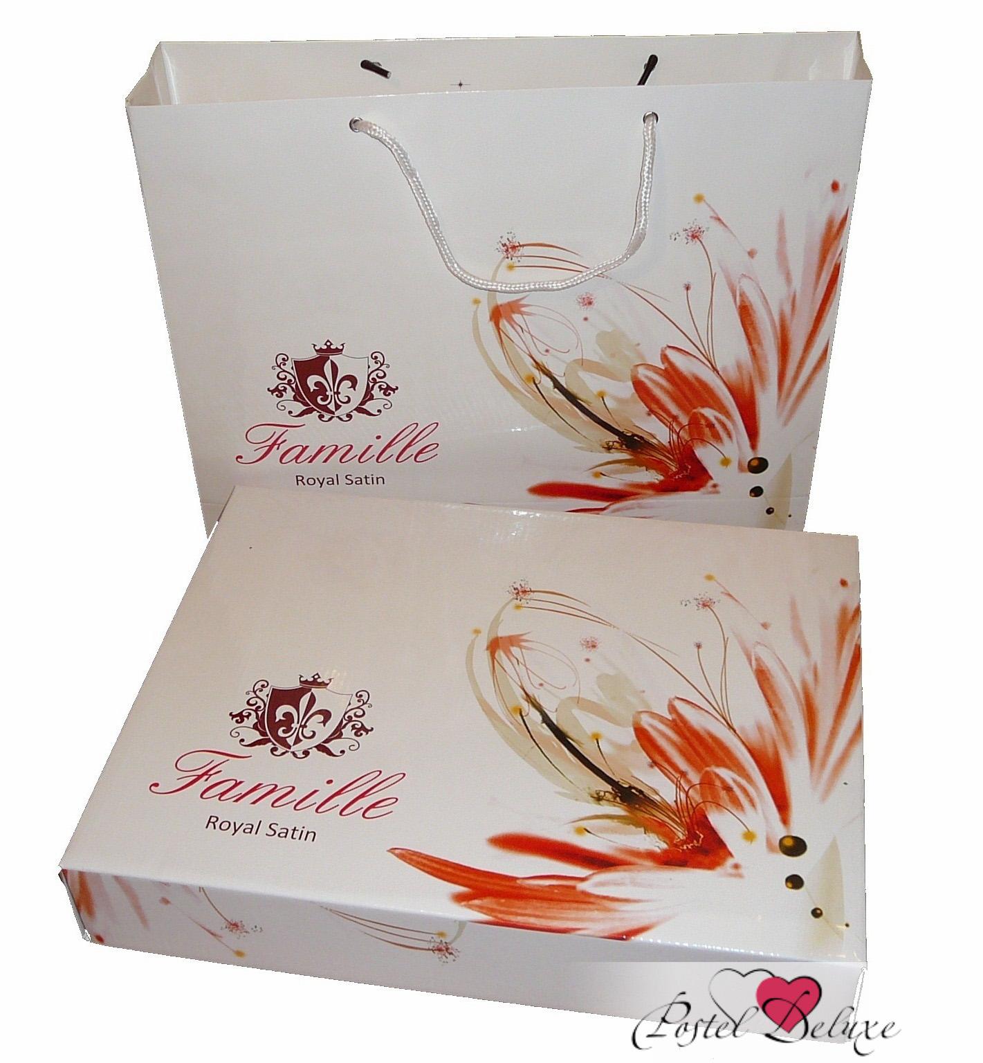 Постельное белье Famille Постельное белье Leto (2 сп. евро) постельное белье адель шоколад евро