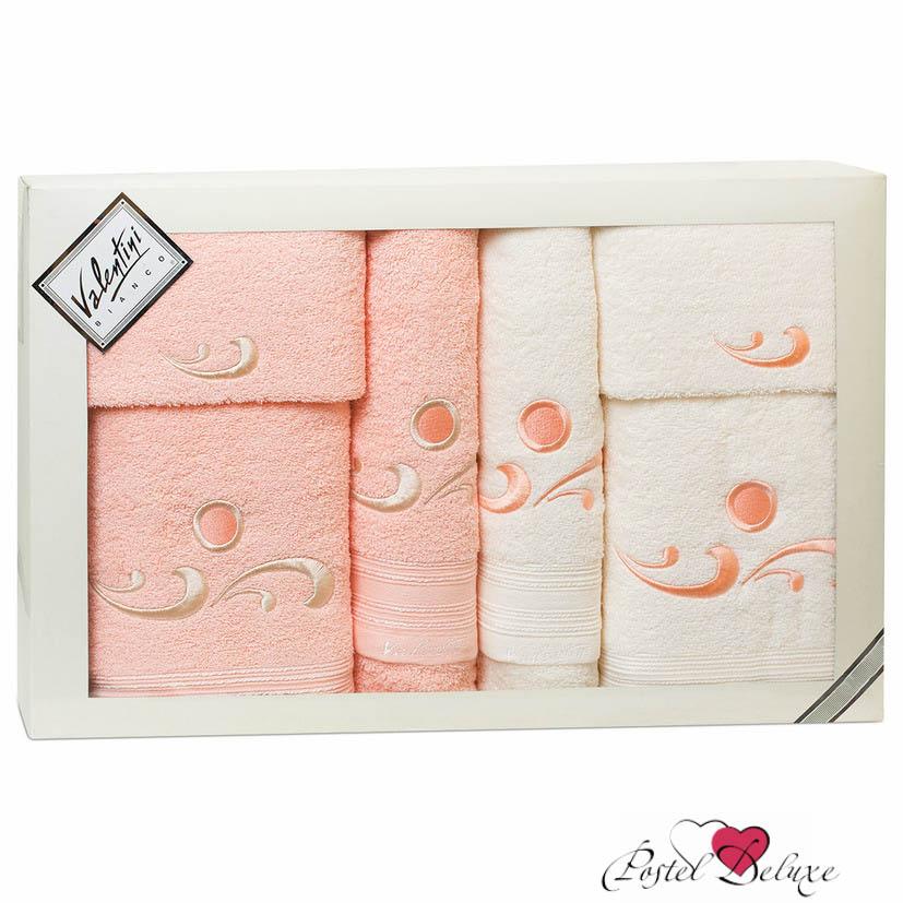 Полотенца Valentini Полотенце Fantasy Цвет: Бледно-Розовый, Кремовый (Набор) полотенца tango полотенце merrill 75х150 см
