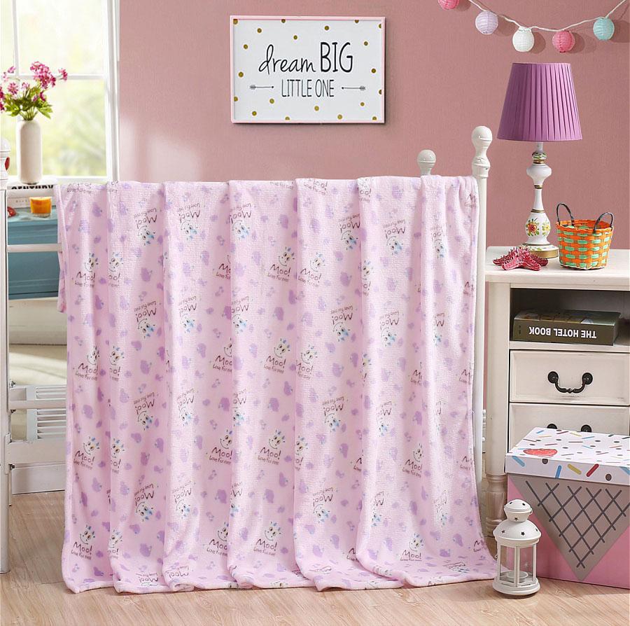 Детские покрывала, подушки, одеяла HONGDA TEXTILE Детский плед Коровки (130х170 см) printio плед флисовый 130х170 см
