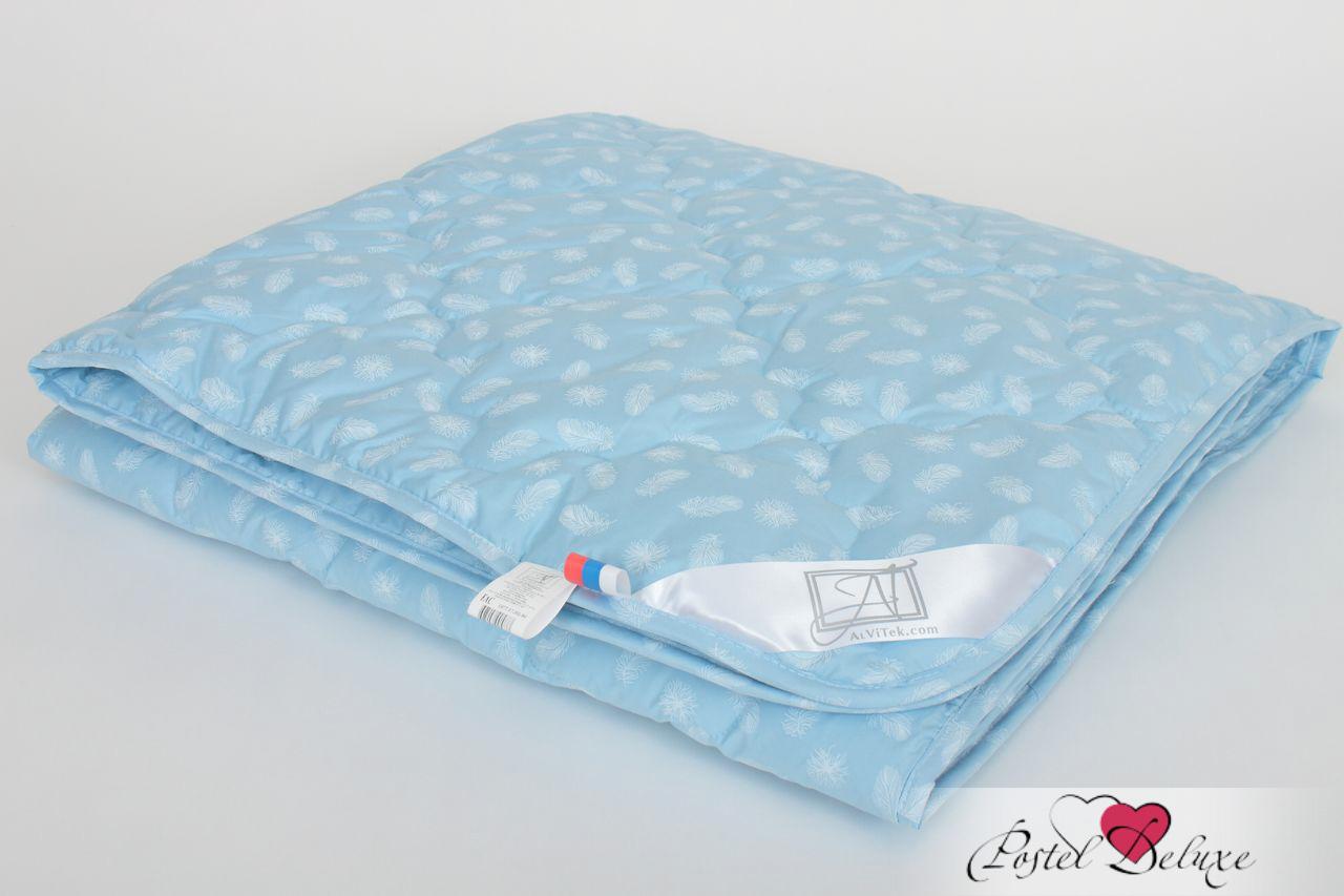 Одеяла AlViTek Одеяло Лебяжий Пух Легкое (140x205 см.) одеяла alvitek одеяло бризлегкое 200x220 см