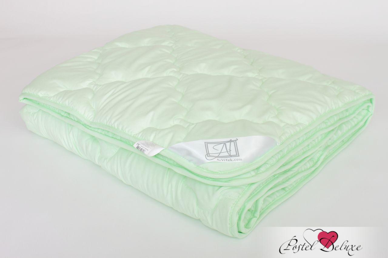 Одеяла AlViTek Одеяло Микрофибра-Бамбук Легкое (140х205 см) одеяла nature s одеяло бархатный бамбук 140х205 см