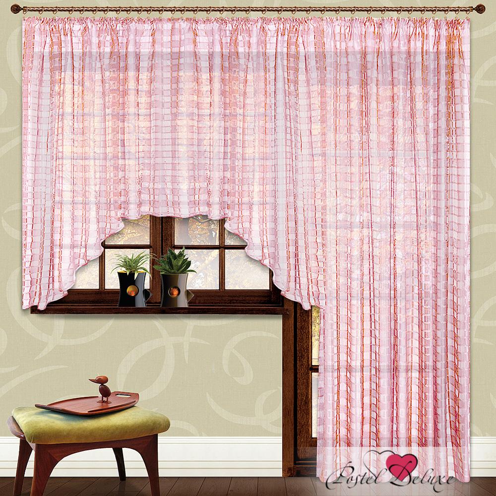Шторы Nivasan Классические шторы Дуэт Цвет: Розовый шторы tac классические шторы winx цвет персиковый 200x265 см