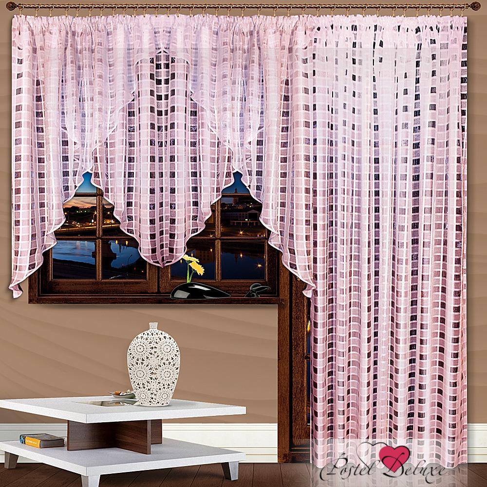 Шторы Nivasan Классические шторы Трио Цвет: Розовый шторы tac классические шторы winx цвет персиковый 200x265 см
