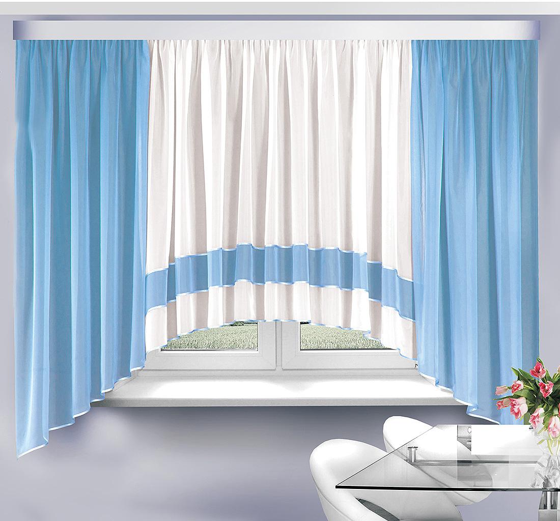 Шторы Велес Классические шторы Эрика Цвет: Голубой шторы tac классические шторы winx цвет персиковый 200x265 см