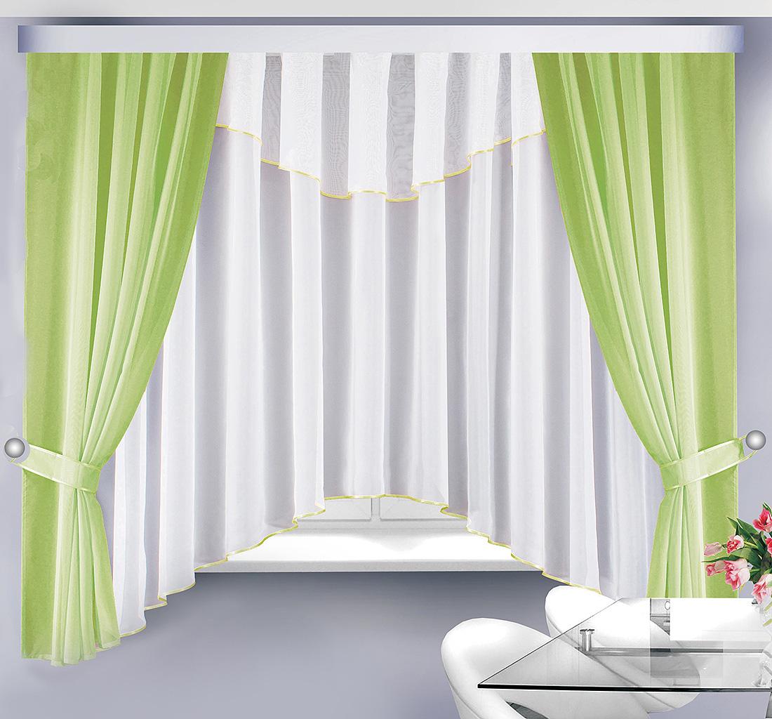 Шторы Велес Классические шторы Герда Цвет: Салатовый велес велес шторы с ламбрекеном скарлет