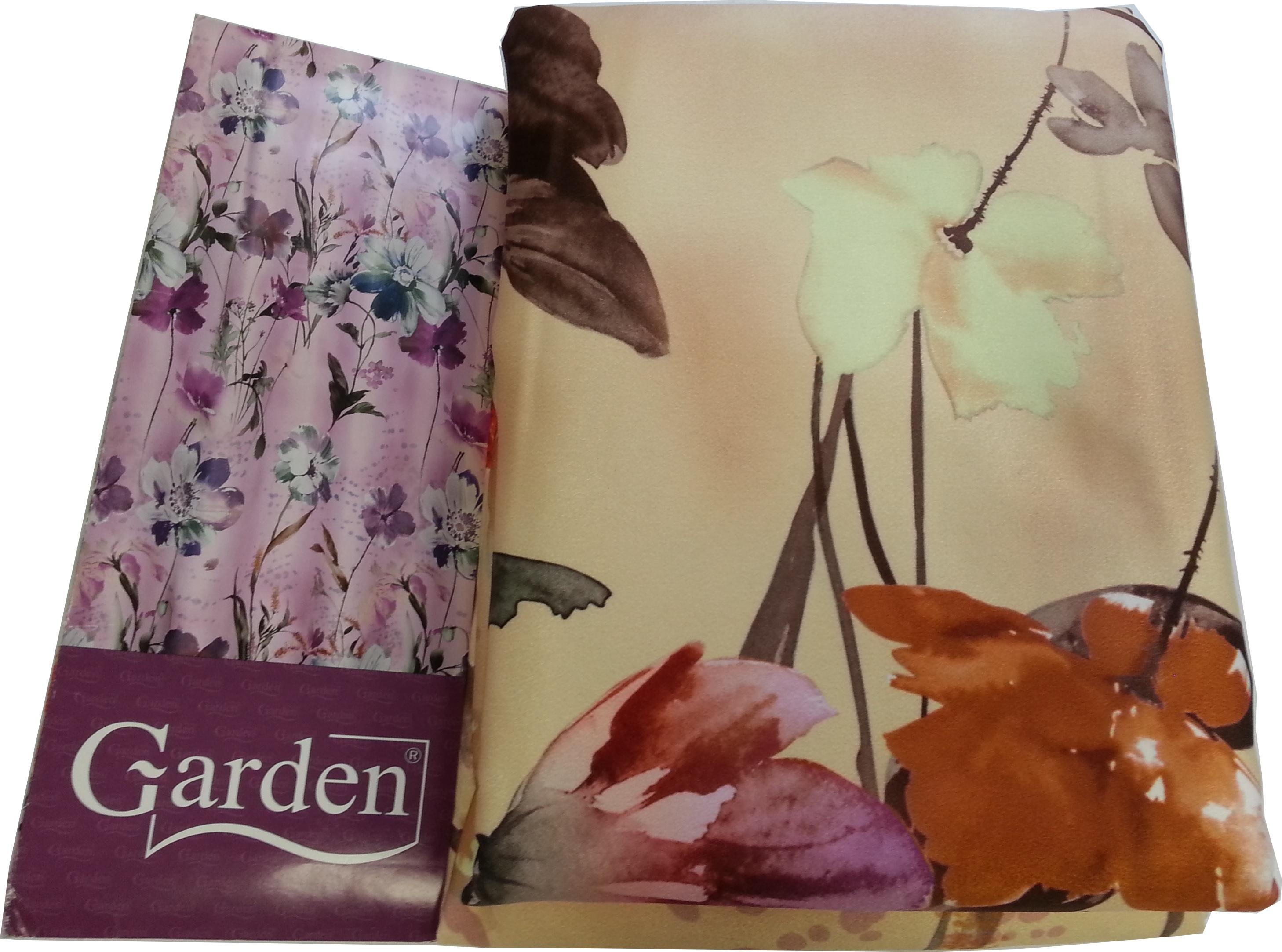Шторы Garden Классические шторы Полевые Цветы Цвет: Терракотовый-Коричневый/Светло-Желтый шторы tac классические шторы winx цвет персиковый 200x265 см