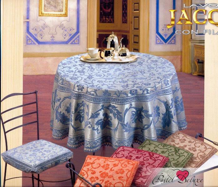 Скатерти и салфетки Fini.Cop Скатерть Arabesco Цвет: Голубой (150х240 см) декор настенный 31 5х63 stella grigio arabesco серый
