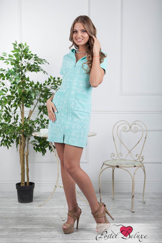 Домашние халаты Five Wien Домашний халат Amore Цвет: Бирюзовый (M) домашние халаты mia mia домашний халат yesenia xl
