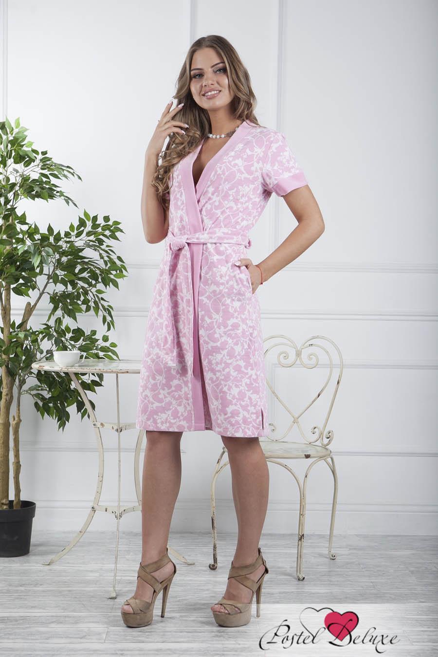 Домашние халаты Five Wien Домашний халат Marta Цвет: Розовый (L-XL) халаты домашние лори халат