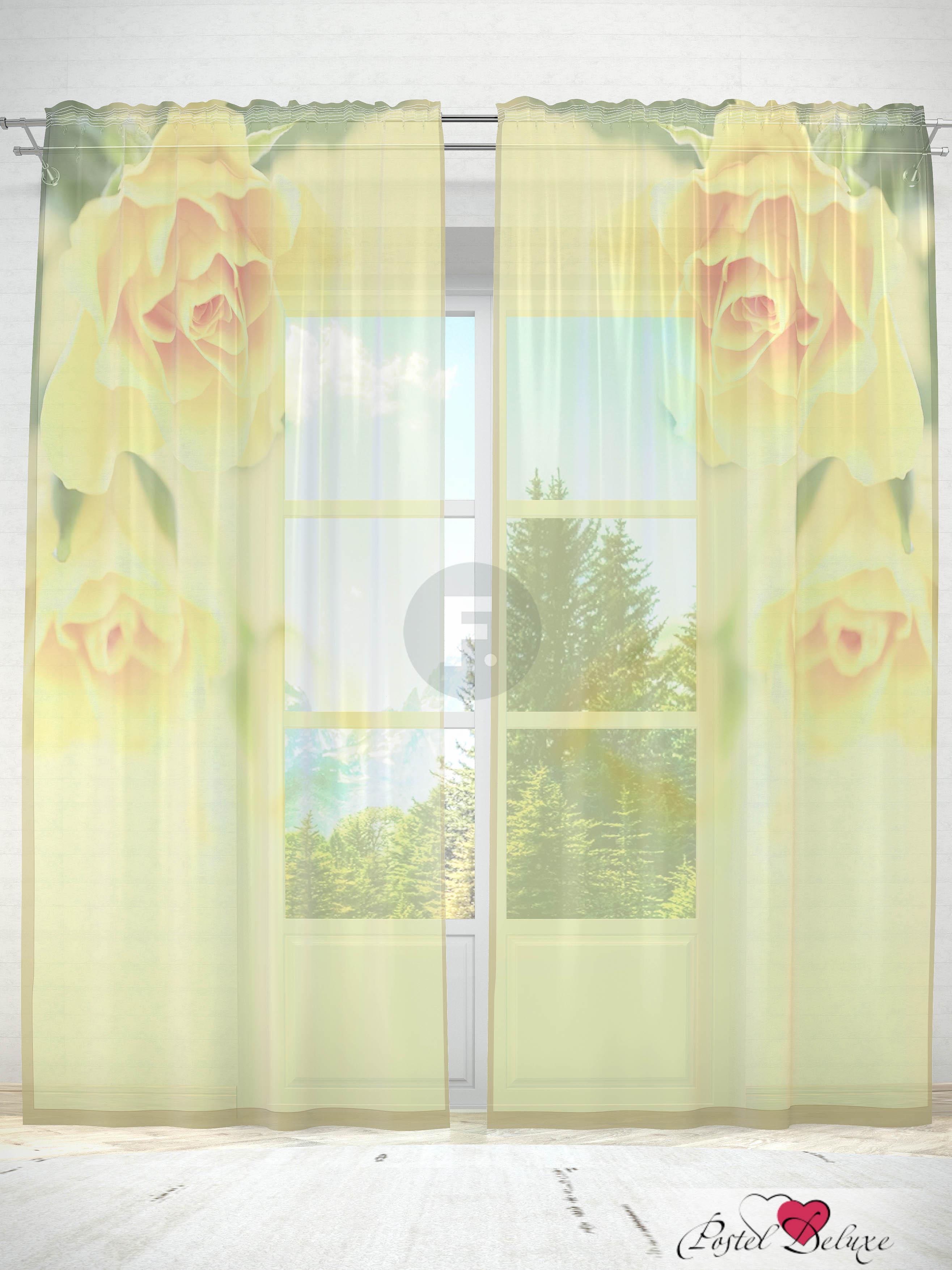 все цены на Шторы Fototende Фототюль Желтые розы