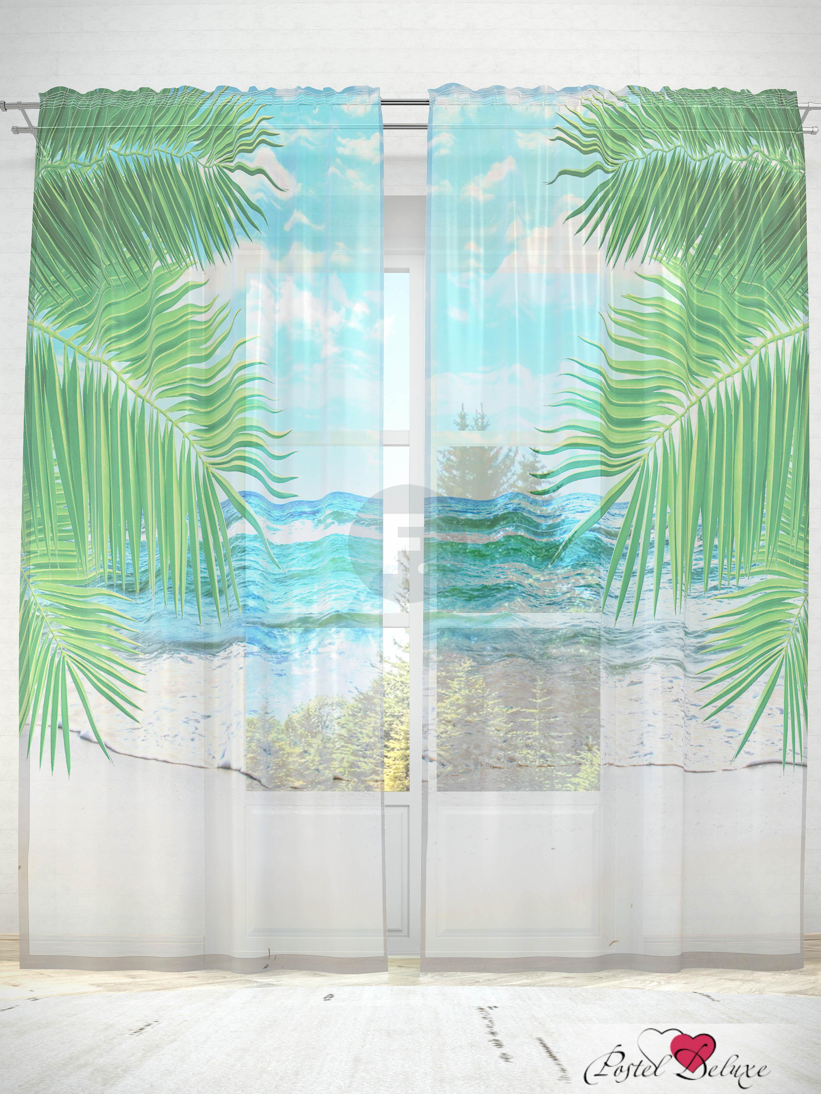 все цены на Шторы Fototende Фототюль Пальмовый пляж