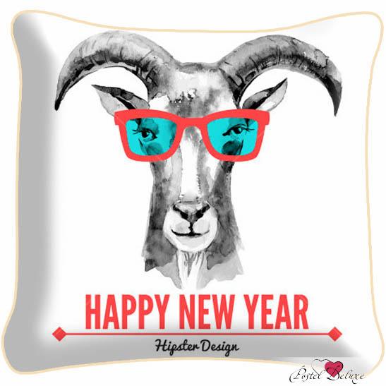 Декоративные подушки Fototende Декоративная подушка Happy New Year (45х45) fototende fototende декоративная подушка остров романтики 45х45