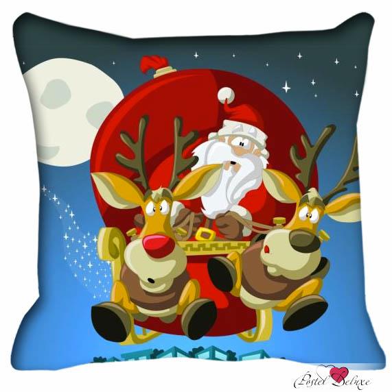 Декоративные подушки Fototende Декоративная подушка Санта Клаус (45х45)