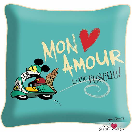Декоративные подушки Fototende Декоративная подушка Mickey Mouse (45х45) fototende fototende декоративная подушка остров романтики 45х45