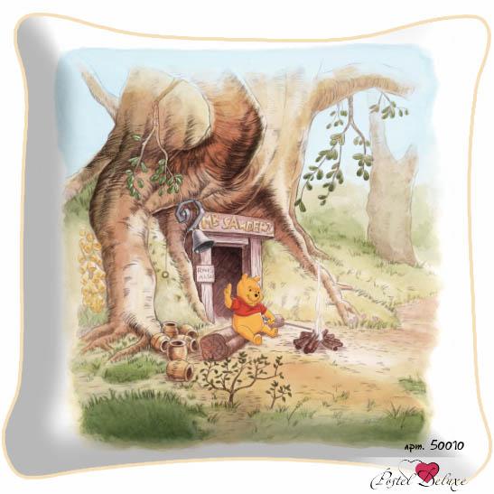 Декоративные подушки Fototende Декоративная подушка Винни Пух (45х45) fototende фототюль винни пух дисней