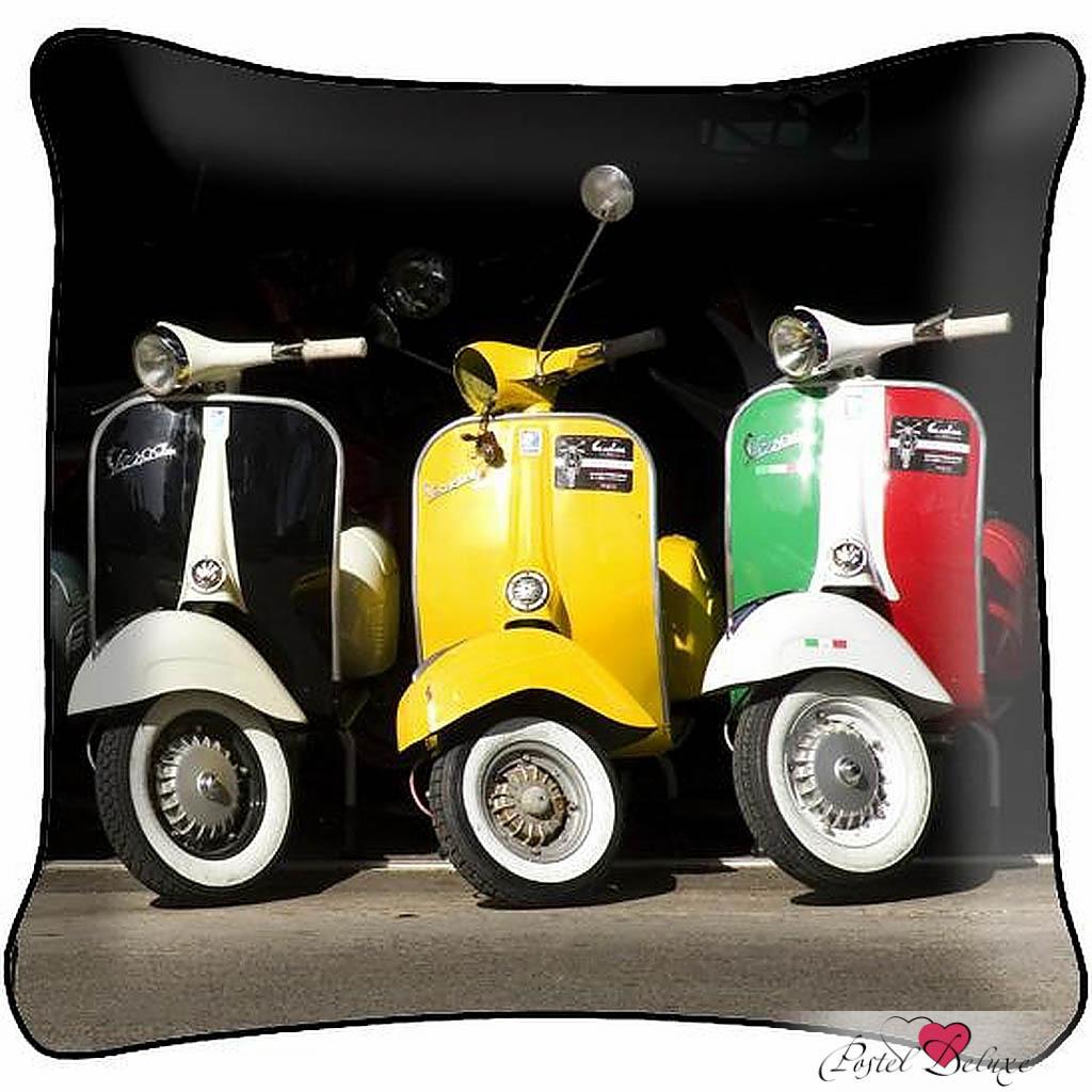 Декоративные подушки Fototende Декоративная подушка Мопеды (45х45)