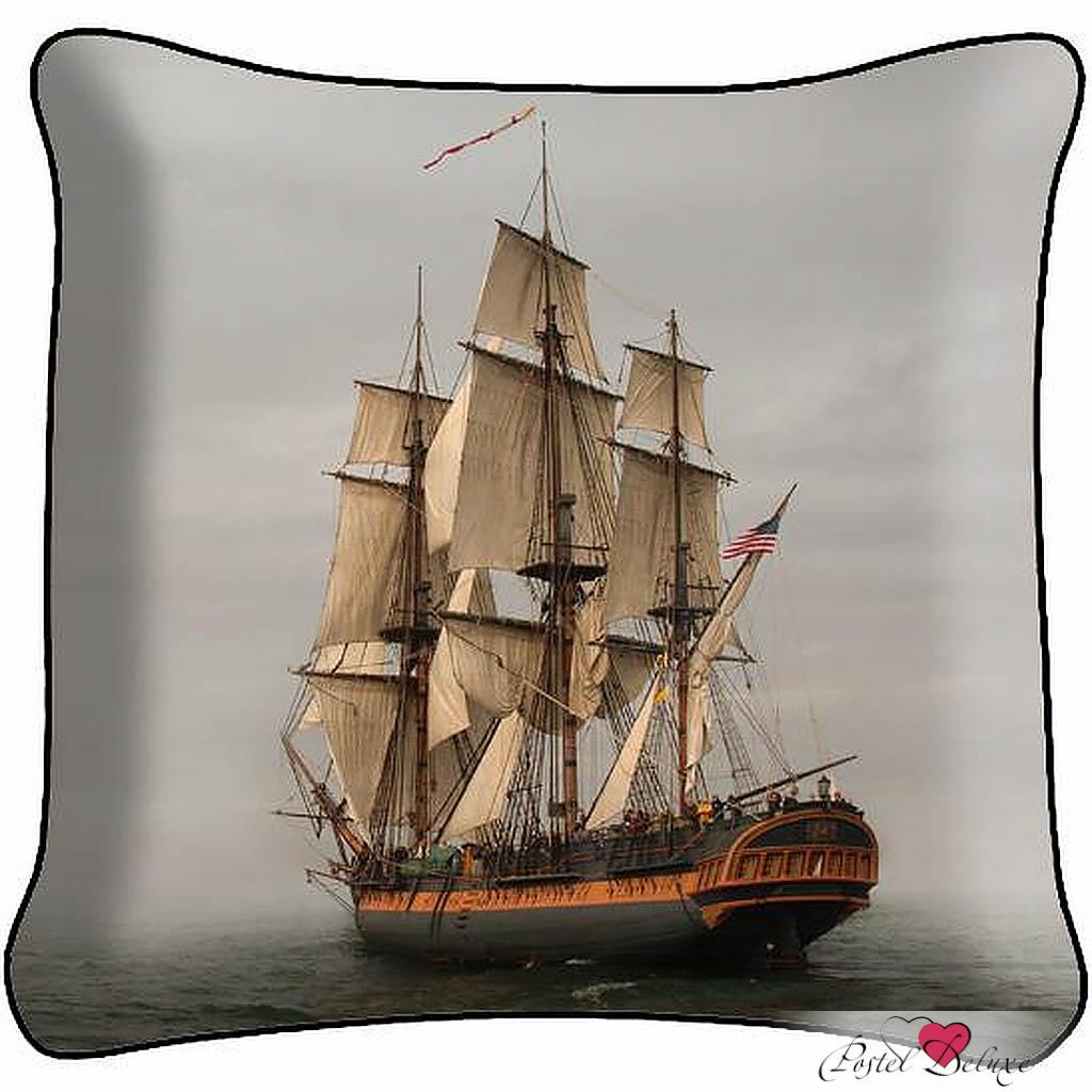 Декоративные подушки Fototende Декоративная подушка Корабль (45х45)