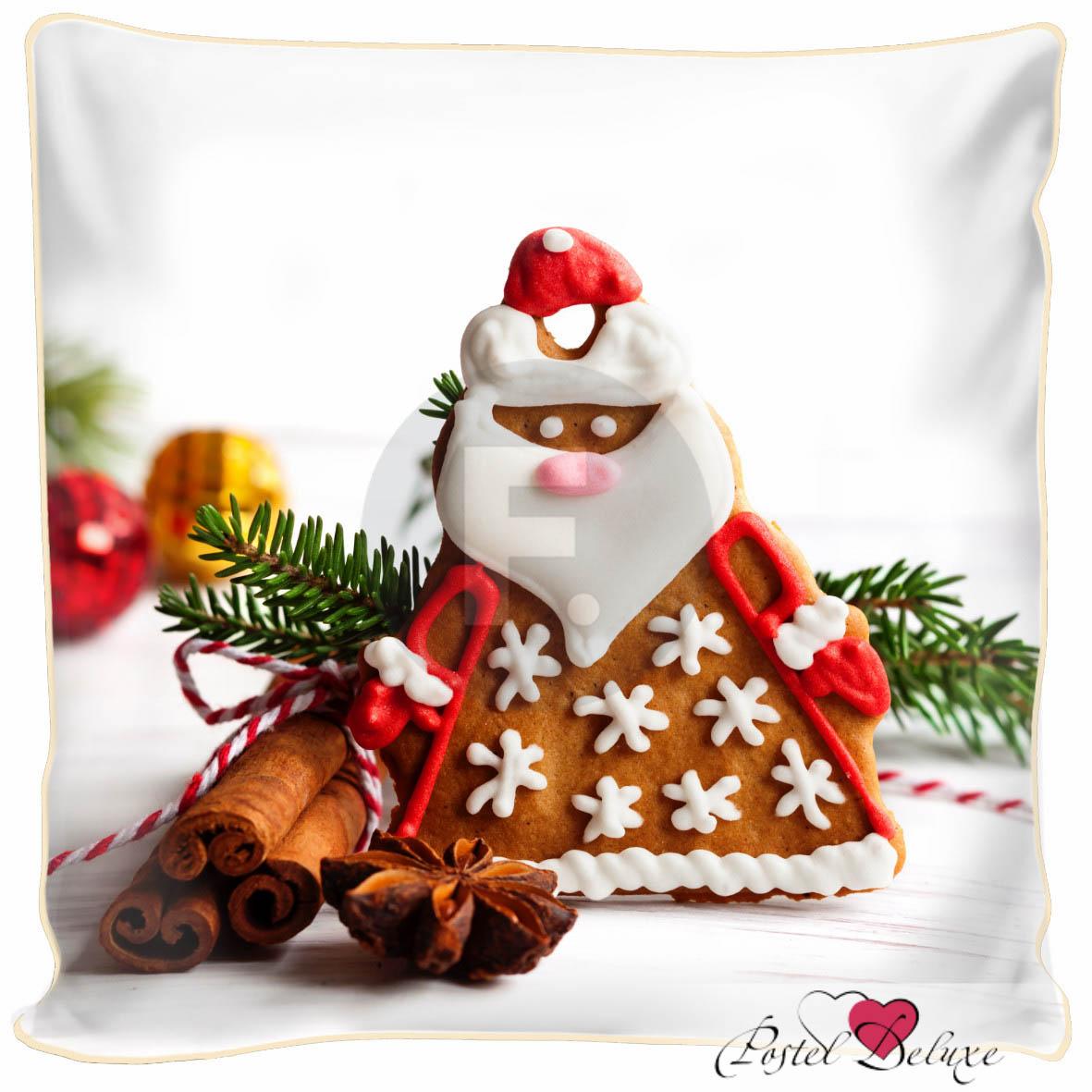 Декоративные подушки Fototende Декоративная подушка Печенье Дед Мороз (45х45) fototende fototende декоративная подушка остров романтики 45х45