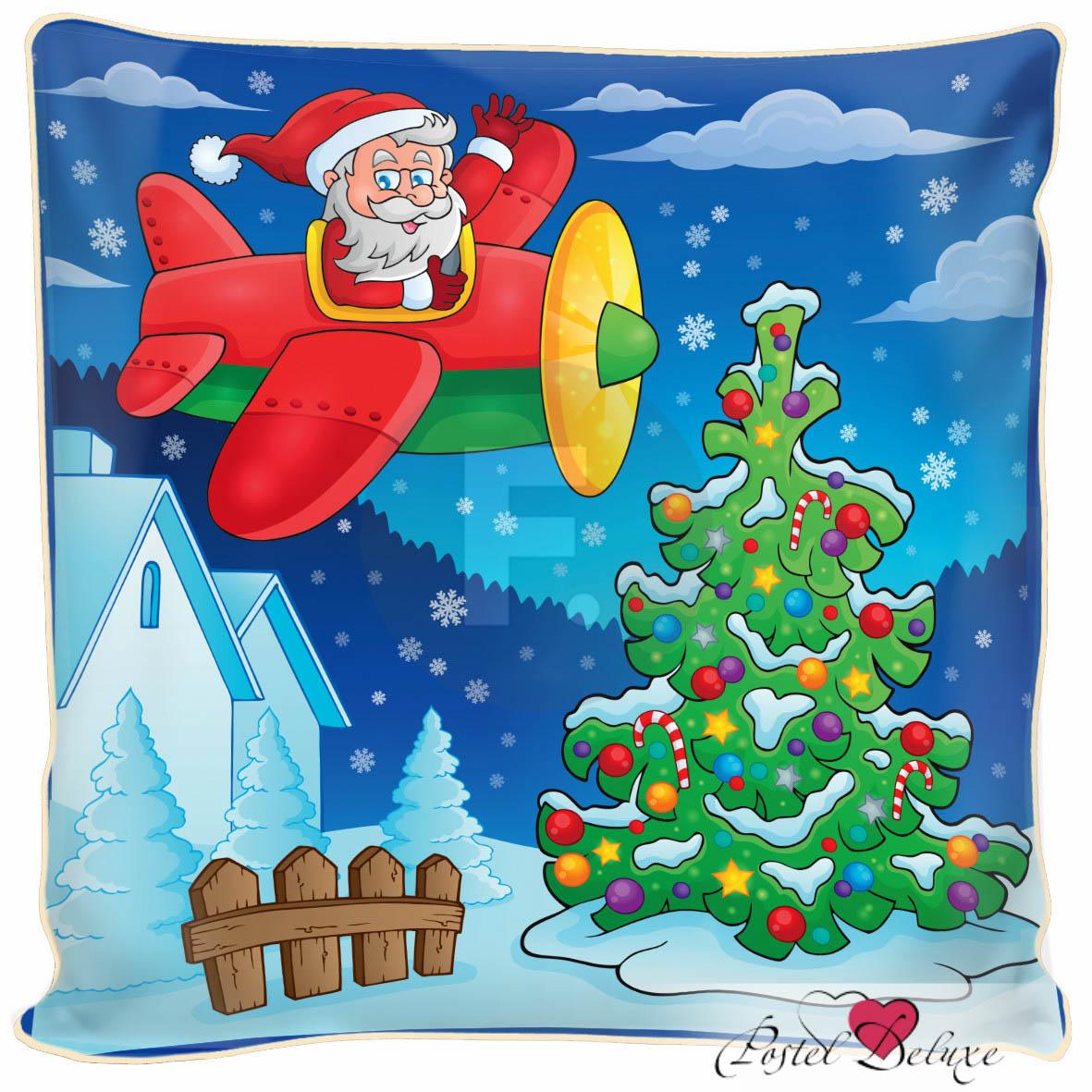 Декоративные подушки Fototende Декоративная подушка Дед Мороз (45х45)