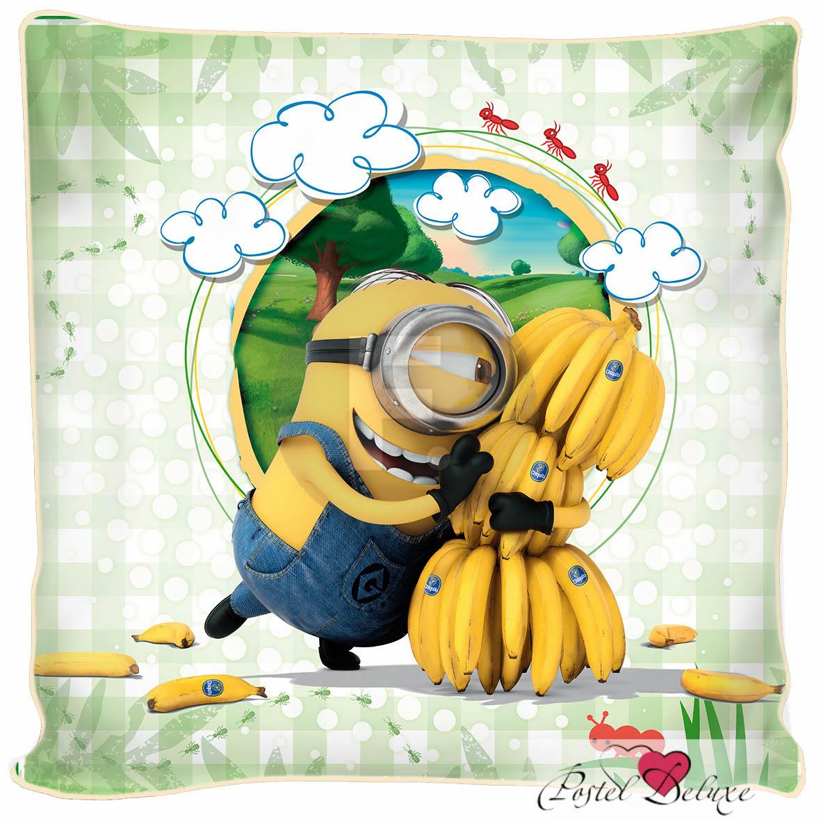 Декоративные подушки Fototende Декоративная подушка Миньон И Бананы (45х45)