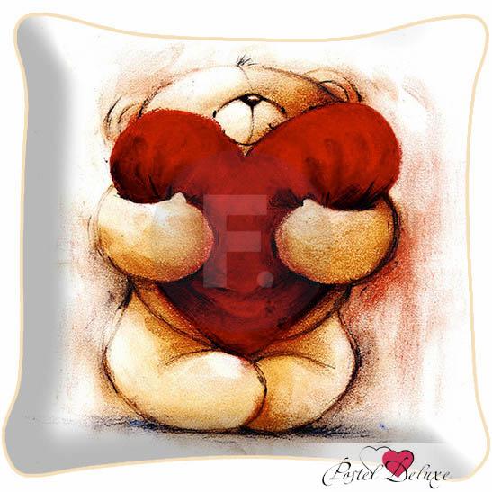 Декоративные подушки Fototende Декоративная подушка Love (45х45) подушки декоративные maxitoys декоративная подушка love is